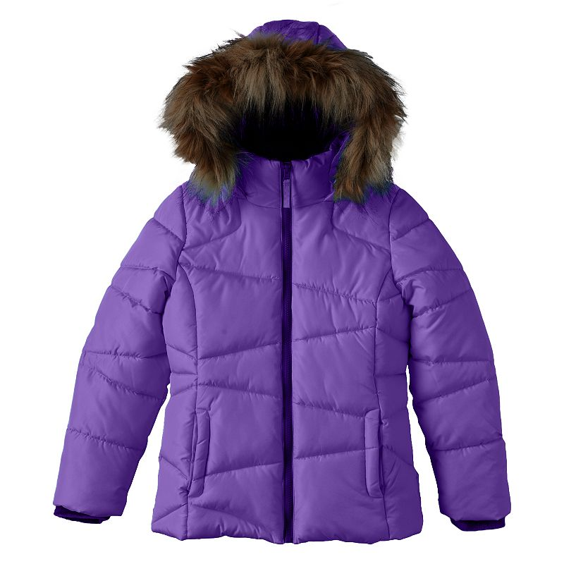 Girls 4-16 SO® Hooded Puffer Jacket