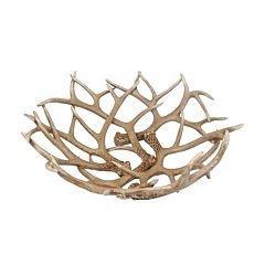 Click here to buy SONOMA Goods for Life Antler Decorative Bowl.