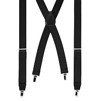 Wembley Solid Stretch Suspenders - Men
