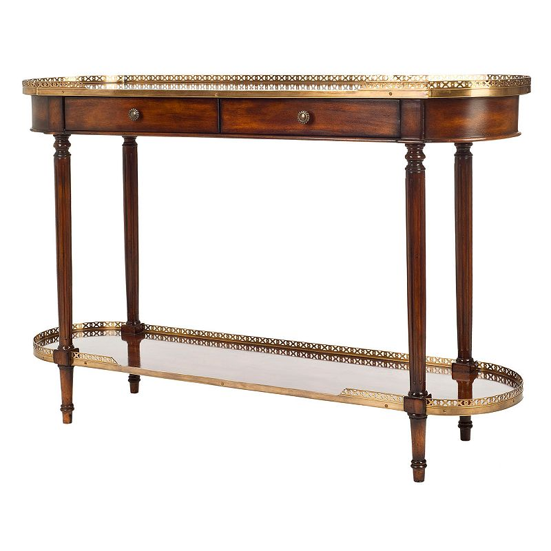 Safavieh Couture Maximos Oval Console Table