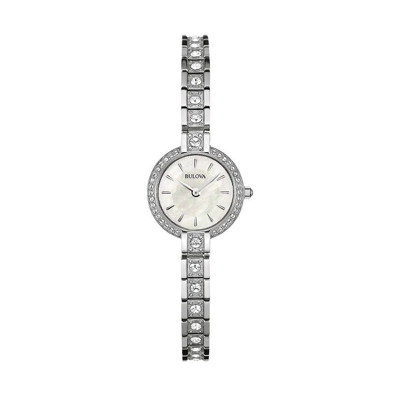 Bulova Women's Crystal Stainless Steel Watch - 96L209