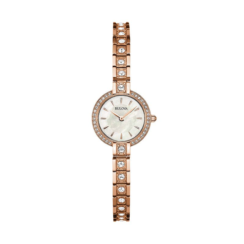 Bulova Women's Crystal Stainless Steel Watch - 98L215