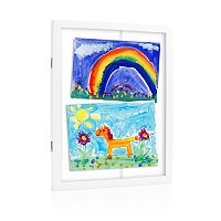 Pearhead Children's Artwork Storage Frame
