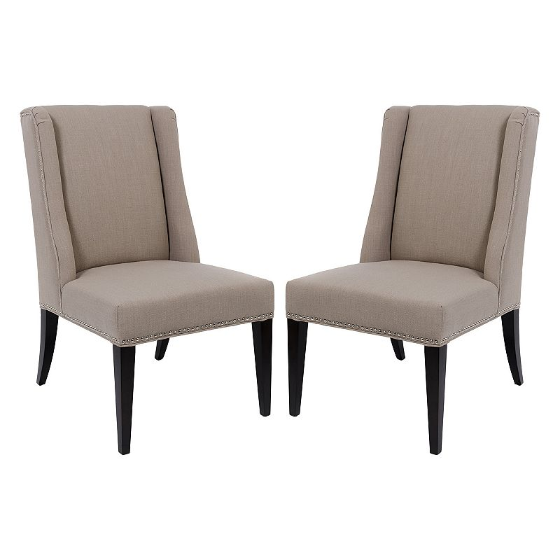 Safavieh Couture 2-piece Callie Dining Chair Set