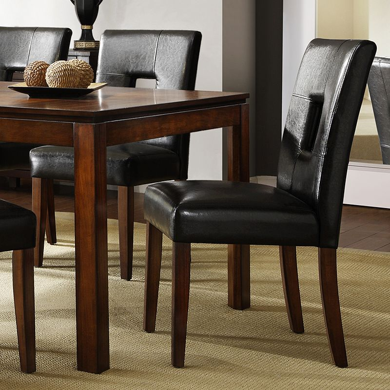 HomeVance 2-piece Roxton Keyhole Side Chair Set
