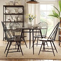 HomeVance Grayson 5-piece Dining Table & Chair Set