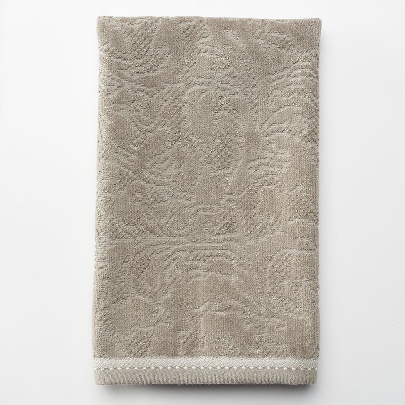 Luxe Scroll Hand Towel