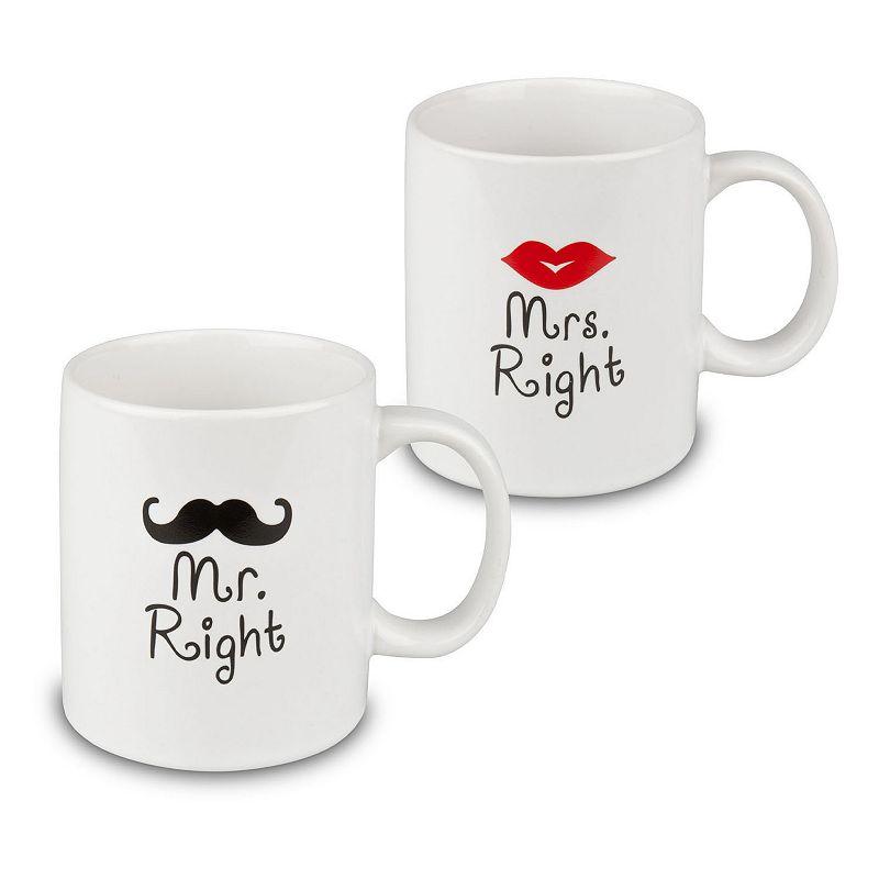 Waechtersbach Mr. & Mrs. Right 2-pc. Mug Set