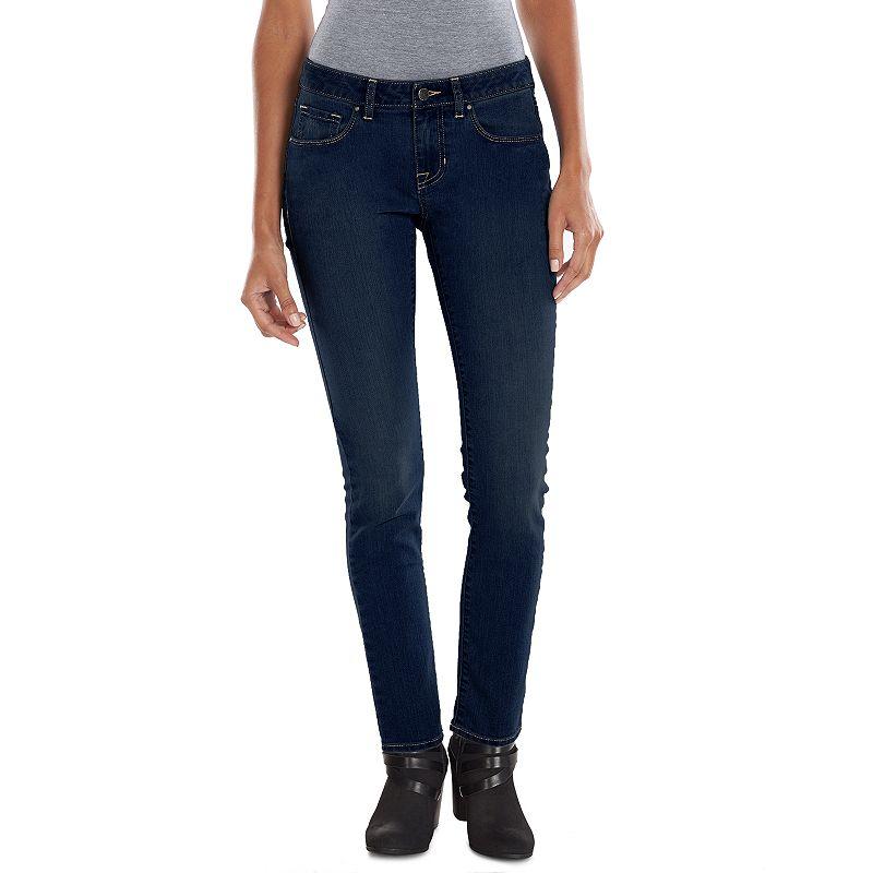 Apt. 9 Modern Fit Skinny Jeans - Women's, Size: 4 (Blue)