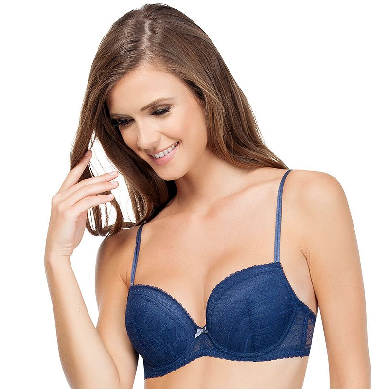 Affinitas Bra: Greta Lace Push-Up Bra A1121 - Women's