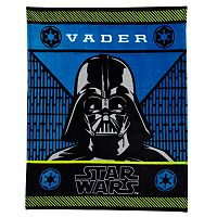 Star Wars Darth Vader Plush Throw