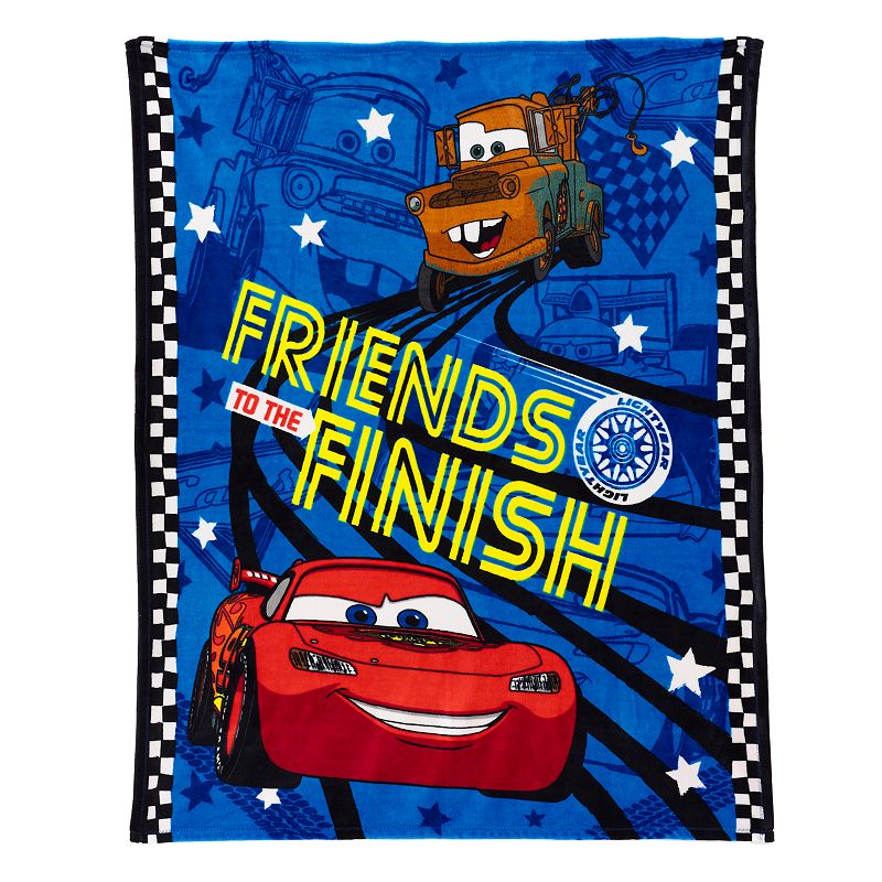 Disney / Pixar Cars Plush Throw by Jumping Beans®
