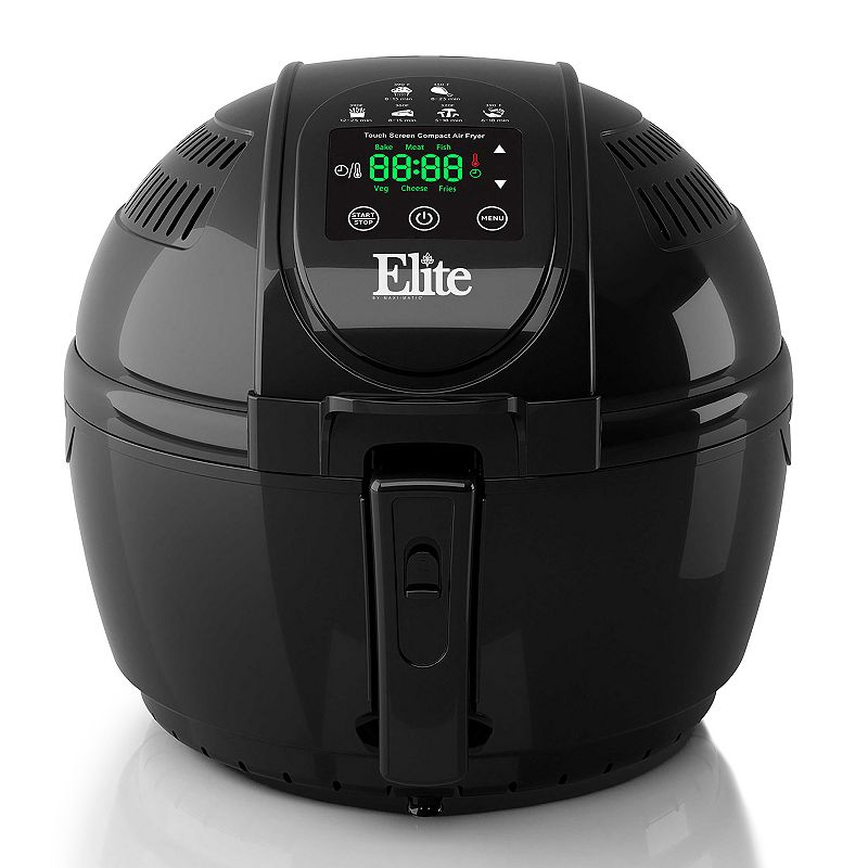 Elite Platinum 3-qt. Digital Air Deep Fryer