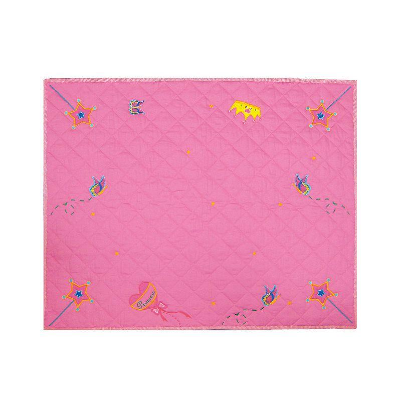 Dexton Fengi Princess Floor Quilt