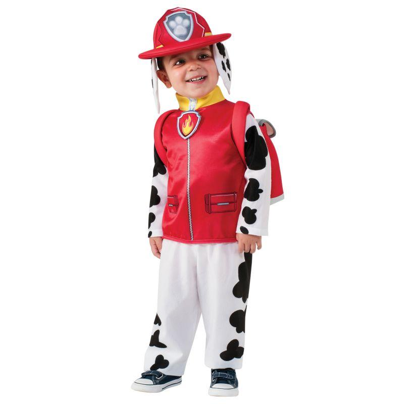 Paw Patrol Marshall Costume - Toddler Boy (White/Red)