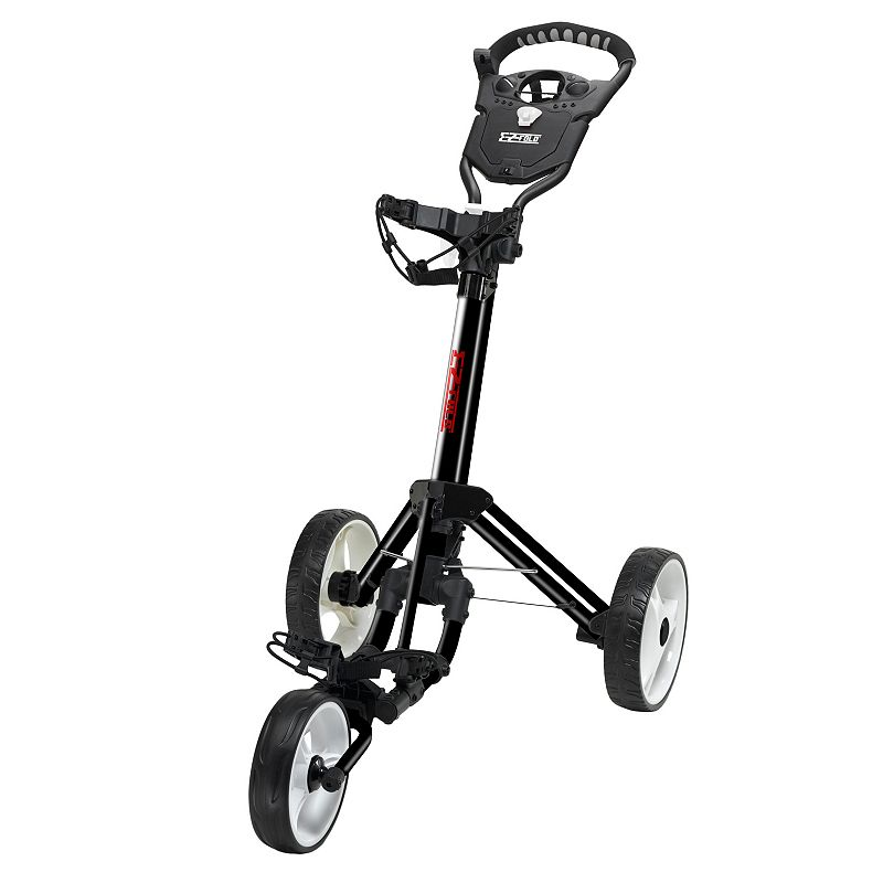 JEF World of Golf Easy Fold Cart (Black)