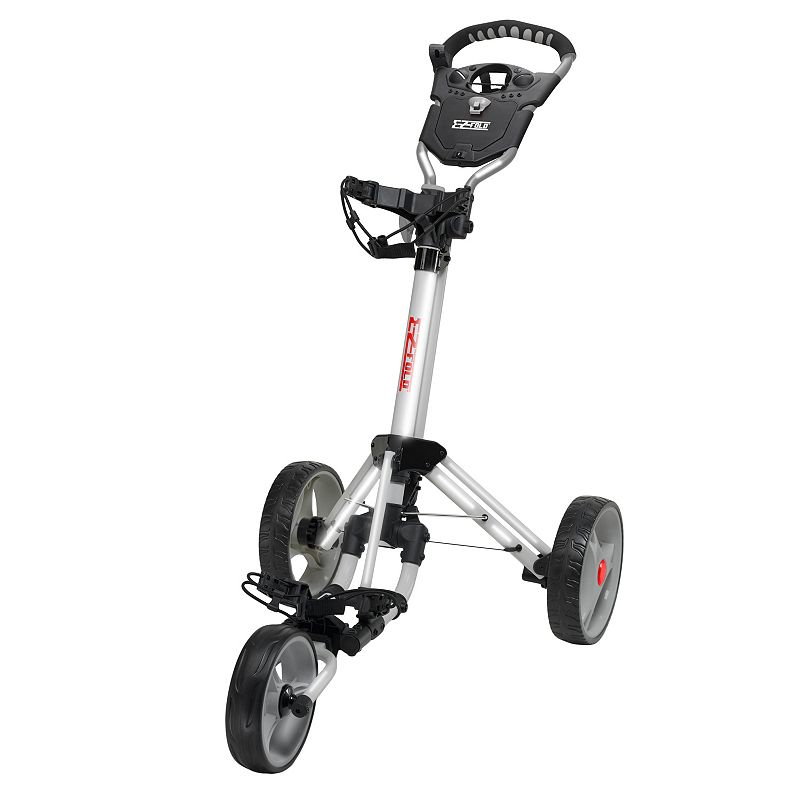 JEF World of Golf Easy Fold Cart (Grey)