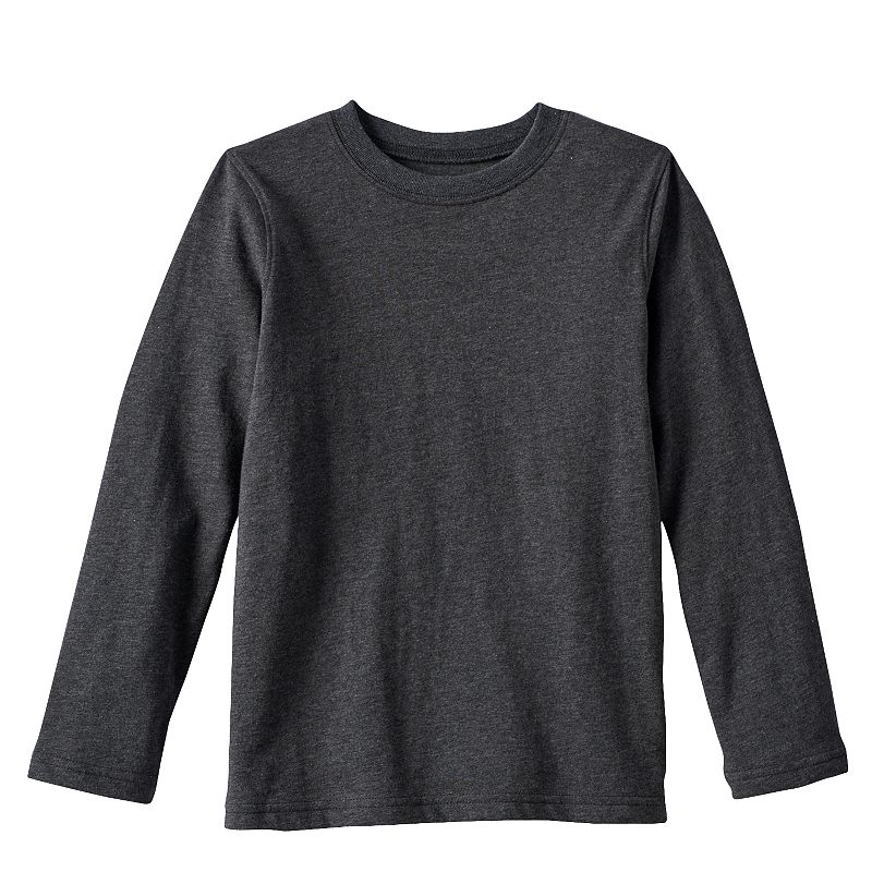 Boys 4-7x Jumping Beans® Solid Long-Sleeved Tee