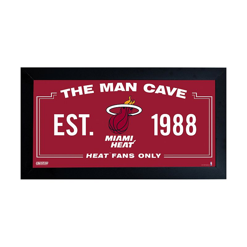 Steiner Sports Miami Heat Framed 10