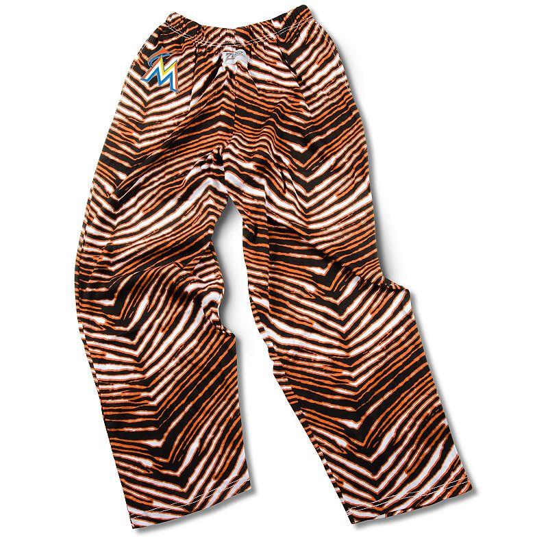 Men's Zubaz Miami Marlins Athletic Pants