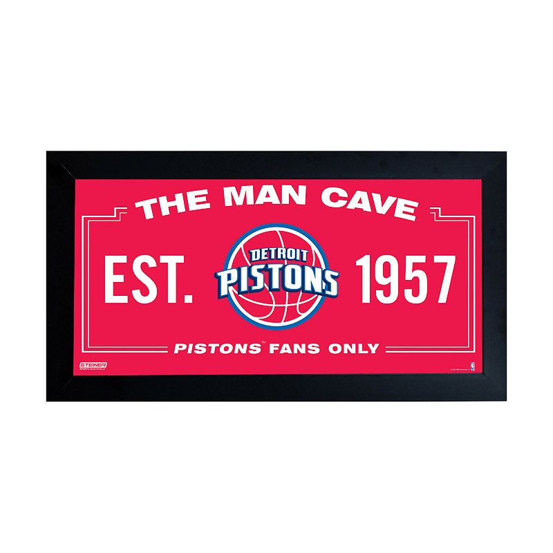 Steiner Sports Detroit Pistons Framed 10