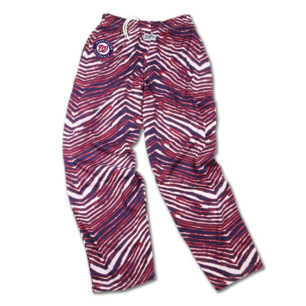 Men's Zubaz Washington Nationals Athletic Pants