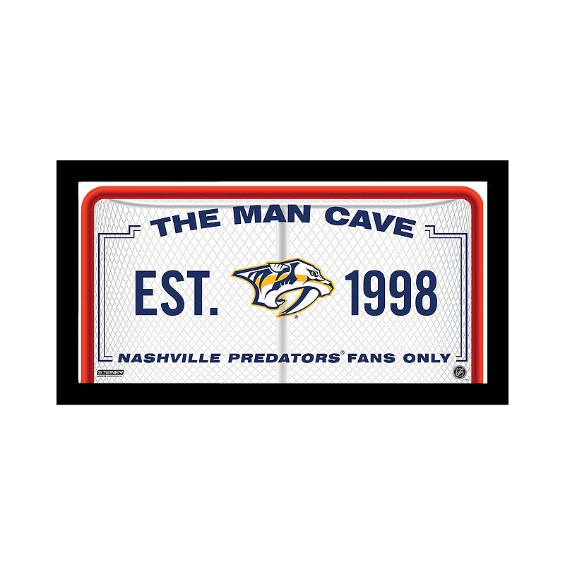 Steiner Sports Nashville Predators Framed 10