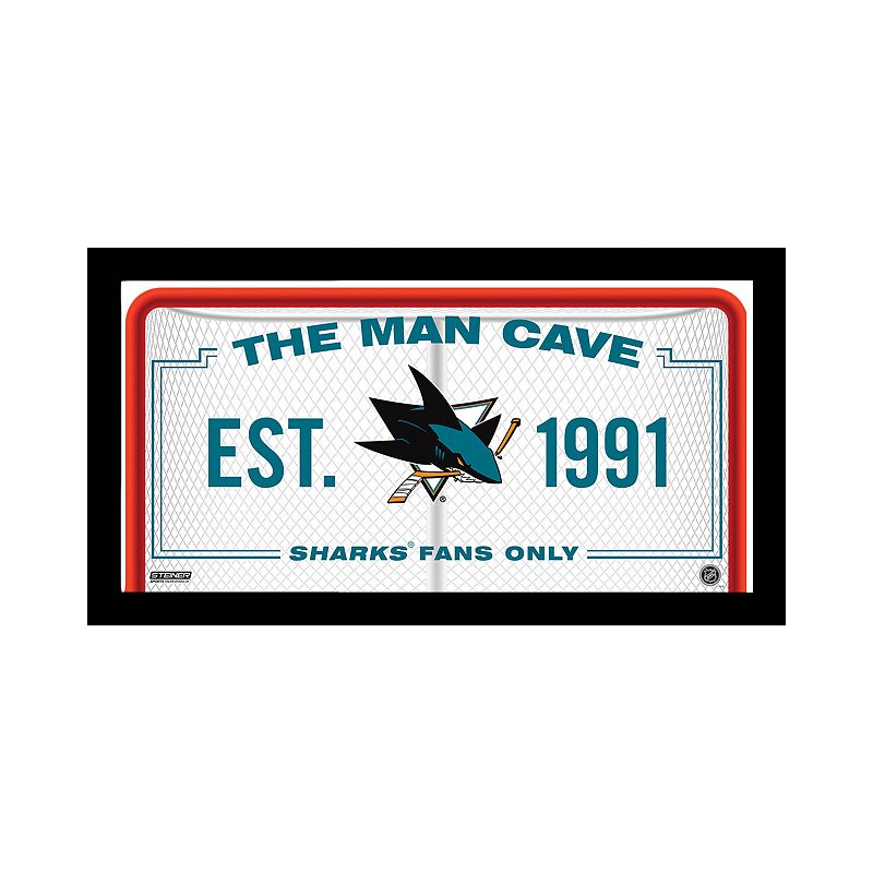 Steiner Sports San Jose Sharks Framed 10
