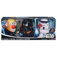 Star Wars Mr. Potato Head Darth Tater & Luke Frywalker Figure & Accessory Set by Playskool  by