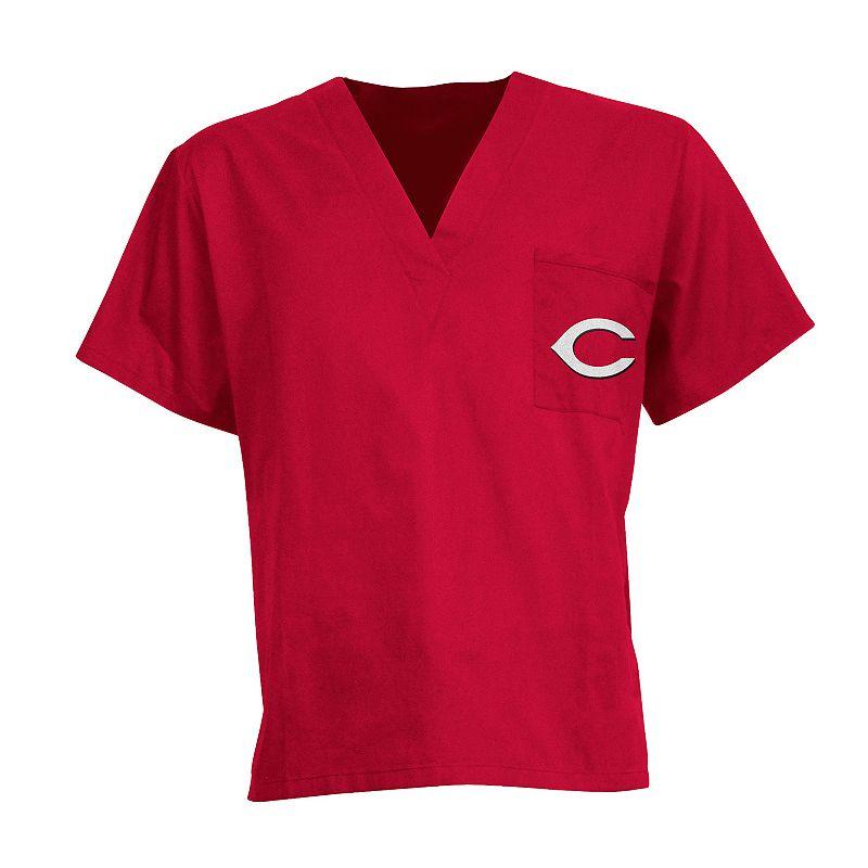 Men's Cincinnati Reds Scrub Top