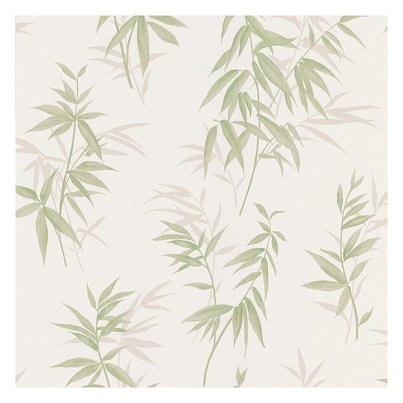 White vinyl wallpaper kohl 39 s for White washable wallpaper