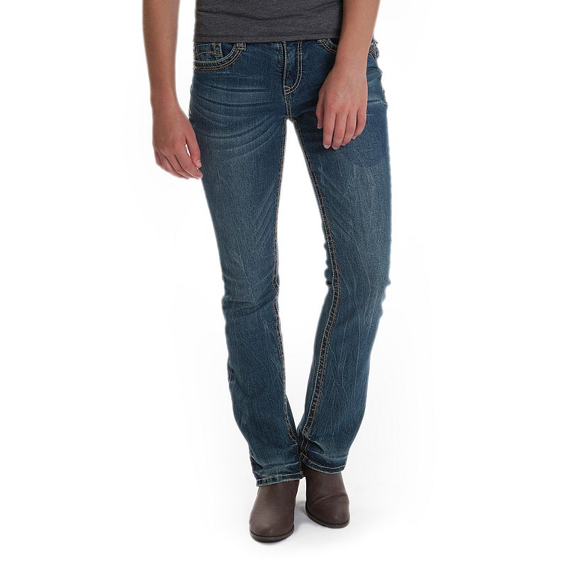 Juniors' Plus Size Unionbay Louissa Skinny Bootcut Jeans