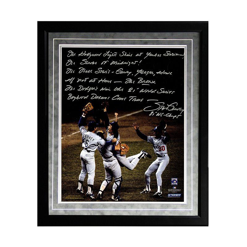 Steiner Sports Los Angeles Dodgers Steve Garvey 1981 World Series Celebration Facsimile 16