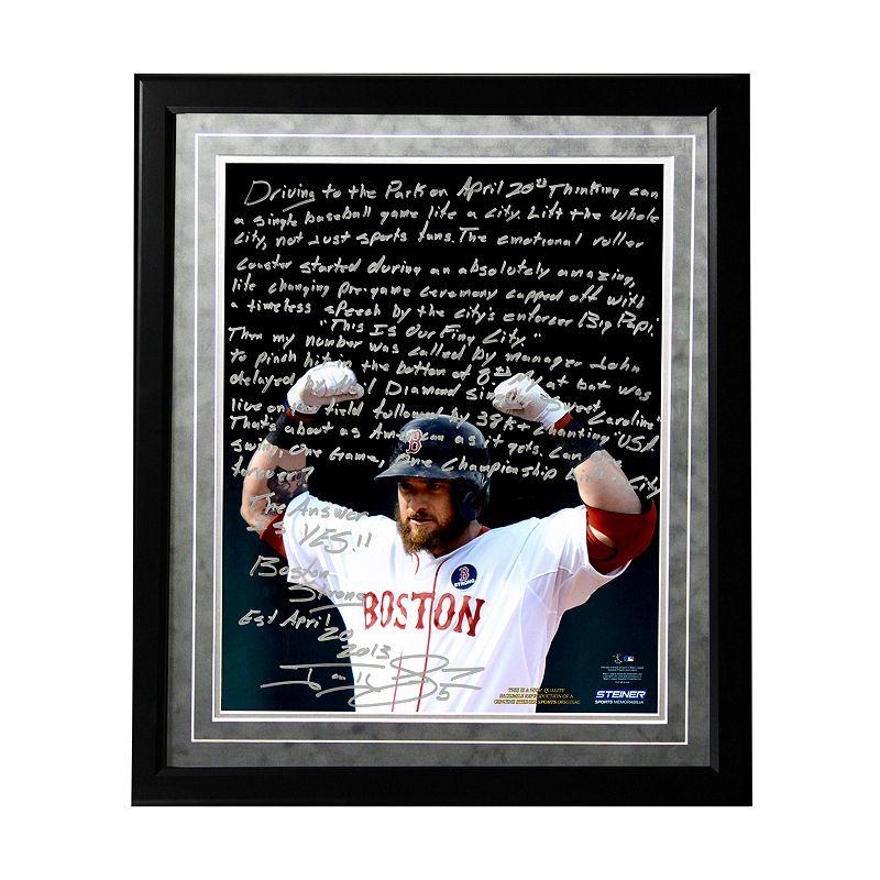 Steiner Sports Boston Red Sox Jonny Gomes Boston Strong Facsimile 16