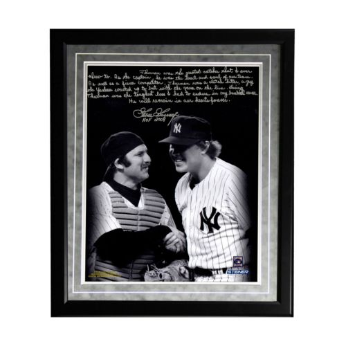 Steiner Sports New York Yankees Goose Gossage on Thurman Munson Facsimile 16