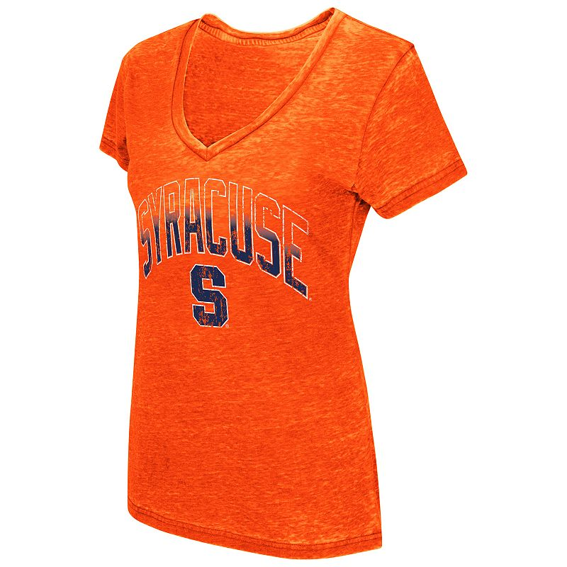 Women's Campus Heritage Syracuse Orange Burnout Tee