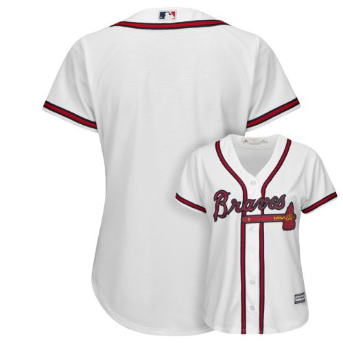 Majestic Atlanta Braves Cool Base Replica Jersey - Women's