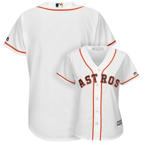 Majestic Houston Astros Cool Base Replica Jersey - Women's