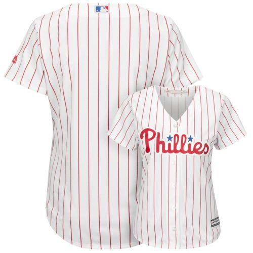 Women's Majestic Philadelphia Phillies Cool Base Replica Jersey
