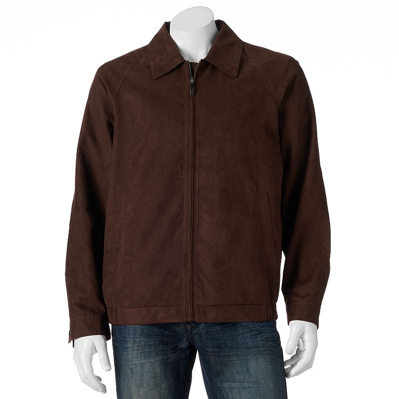 Men's Croft & Barrow Microsuede Jacket