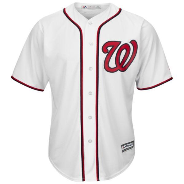 Men's Majestic Washington Nationals Cool Base Replica MLB Jersey
