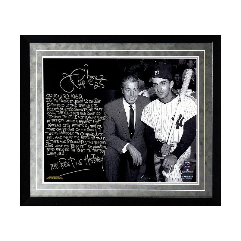 Steiner Sports New York Yankees Joe Pepitone About Joe DiMaggio Facsimile 16