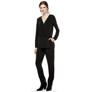 Thakoon for DesigNation Surplice Peplum Jumpsuit - Women's