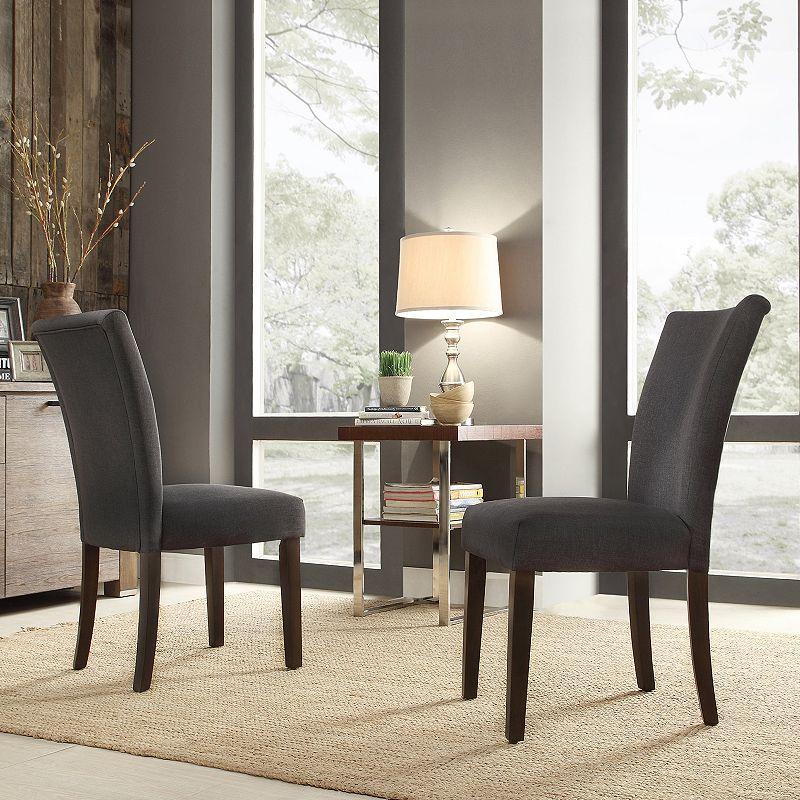 HomeVance Denargo 2-piece Side Chair Set