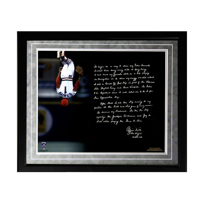 Steiner Sports St. Louis Cardinals Ozzie Smith Flip Facsimile 16