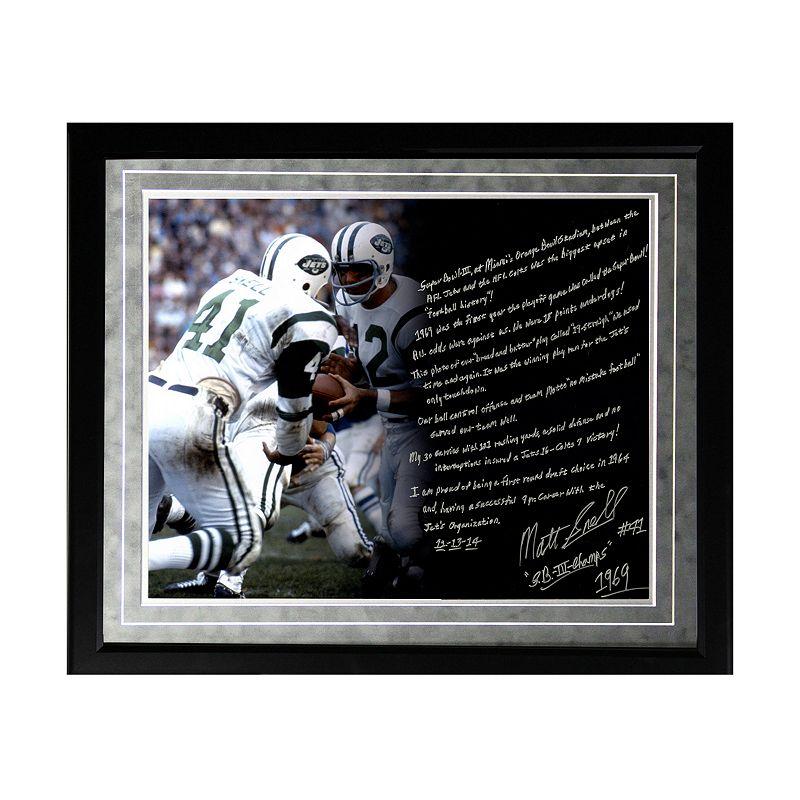 Steiner Sports New York Jets Matt Snell Super Bowl III Facsimile 16