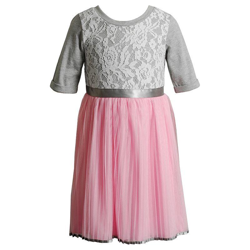Girls 4-6x Youngland Lace Dress