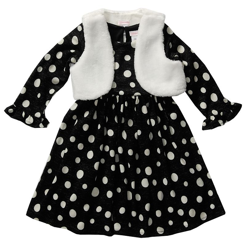 Girls 4-6x Youngland Dress & Vest Set