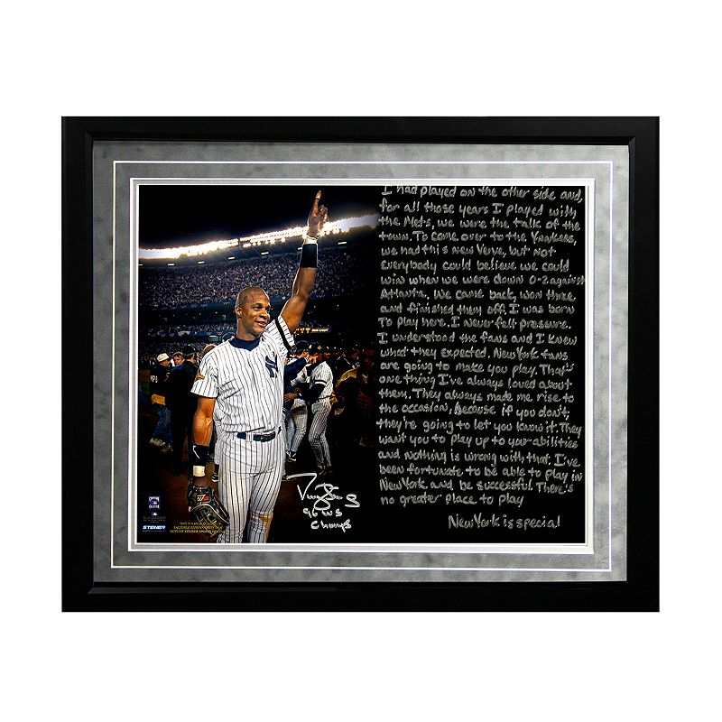 Steiner Sports New York Yankees Darryl Strawberry 1986 Mets Facsimile 16