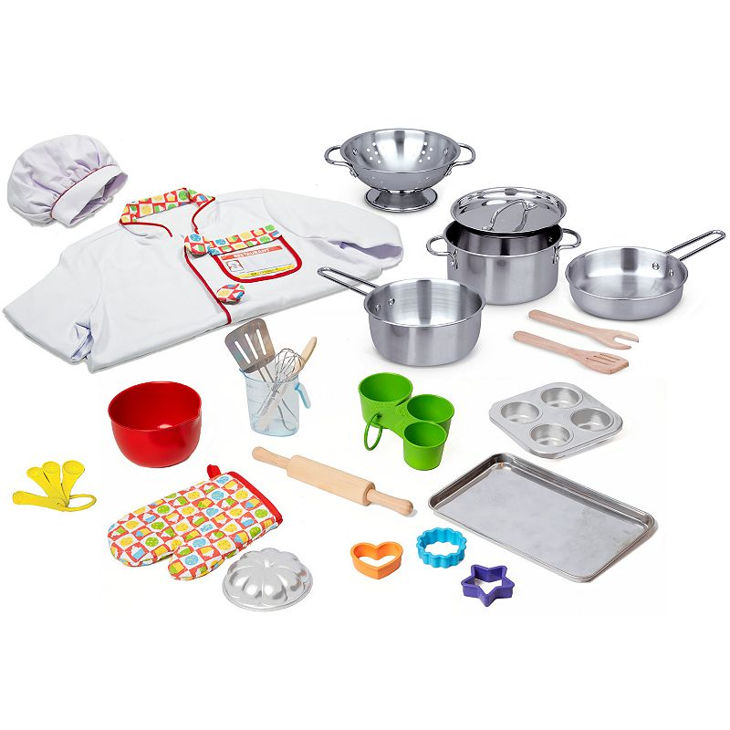 Melissa Doug 31 Pc What 39 S Cooking Deluxe Playset